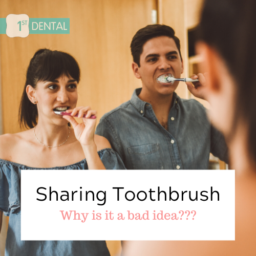 6 reasons why sharing your toothbrush is a bad idea